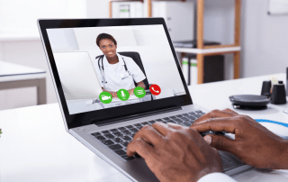DrBot Telehealth - Laptop Remote Consultation